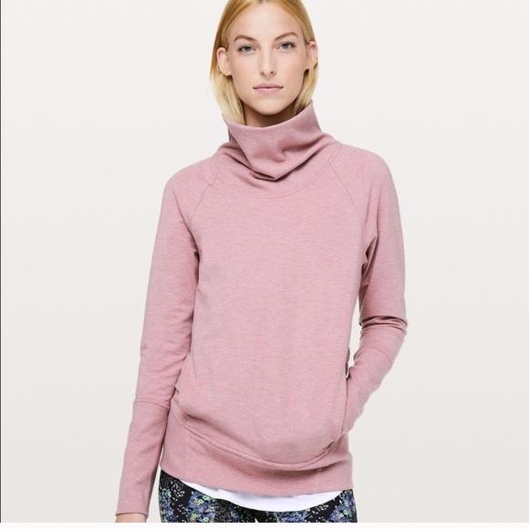 Lululemon High Lines Pullover 10 Pink